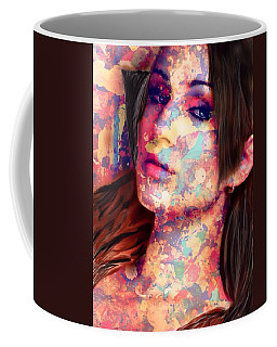 Coffee Mug featuring the painting Painted Lady by Mark Taylor