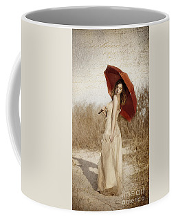 Painted Lady Narrow Coffee Mug