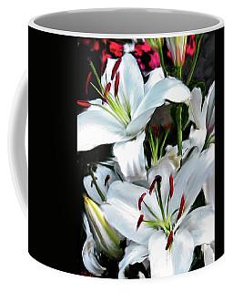 Painted Lilies Coffee Mug