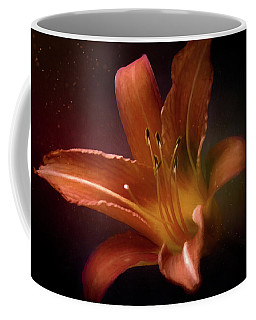 Painted Lily Coffee Mug