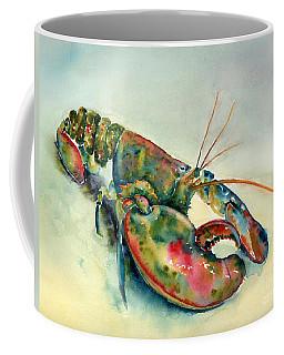 Painted Lobster Coffee Mug