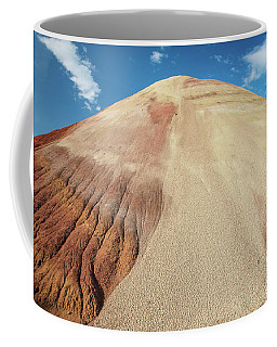 Coffee Mug featuring the photograph Painted Mound by Greg Nyquist