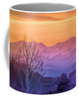 Painted Mountains Coffee Mug