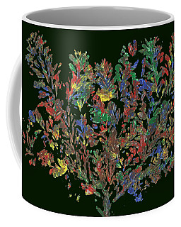 Coffee Mug featuring the painting Painted Nature 2 by Sami Tiainen