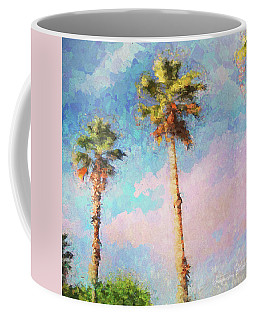 Painted Palms Coffee Mug