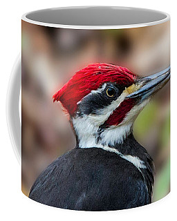 Coffee Mug featuring the painting Painted Pileated Woodpecker by John Haldane
