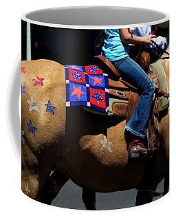 Coffee Mug featuring the photograph Painted Pony by Lorraine Devon Wilke