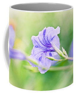 Painted Purple Coffee Mug