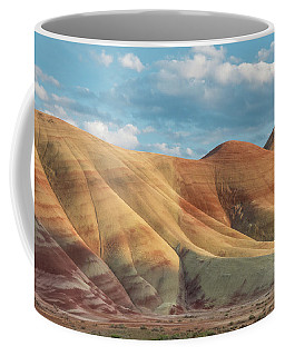 Coffee Mug featuring the photograph Painted Ridge And Sky by Greg Nyquist