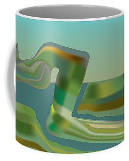 Painted Riverland Coffee Mug