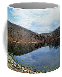 Coffee Mug featuring the photograph Painted Rock Conservation Area by Cricket Hackmann