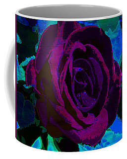 Painted Rose Coffee Mug by Samantha Thome