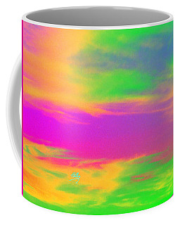 Painted Sky - Abstract Coffee Mug