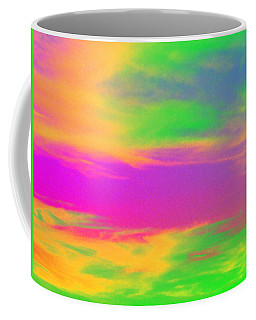Coffee Mug featuring the photograph Painted Sky by Linda Hollis