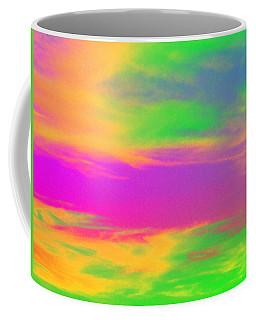 Painted Sky - Abstract Coffee Mug by Linda Hollis