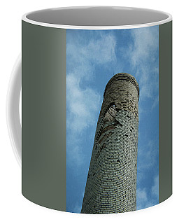 Coffee Mug featuring the photograph Painted Stack by Guy Whiteley