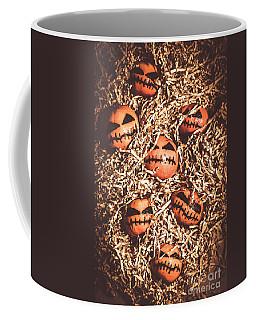painted tangerines for Halloween Coffee Mug