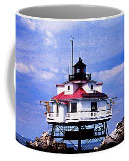 Painted Thomas Point Lighthouse Coffee Mug