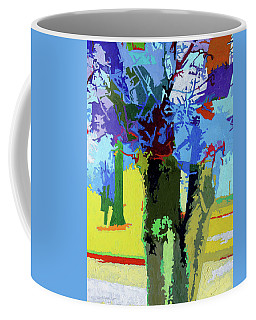 Painted Trees Coffee Mug