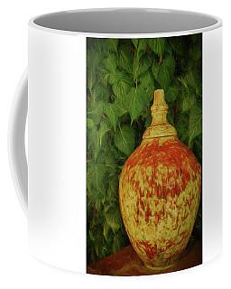 Painted Vase Coffee Mug