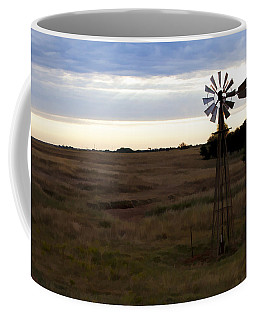 Painted Windmill Coffee Mug