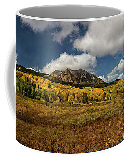 Painterly Kebler Pass Coffee Mug