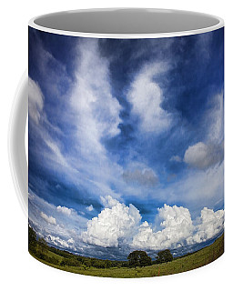 Painterly Sky Over Oklahoma Coffee Mug