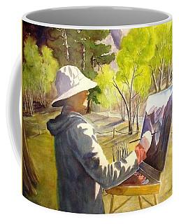Painters Paradise Coffee Mug by Marilyn Jacobson
