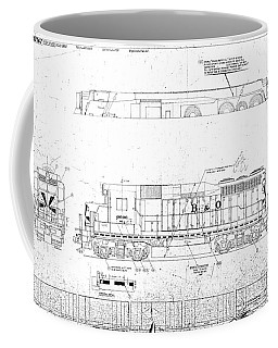 Painting And Lettering Diagramgp30 Coffee Mug