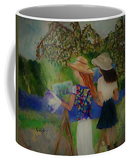 Painting In France Coffee Mug