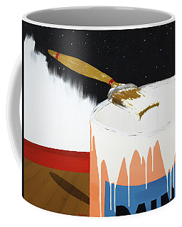 Painting Out The Sky Coffee Mug