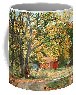 Painting The Fall Colors Coffee Mug