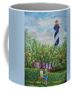 Painting The Light Coffee Mug