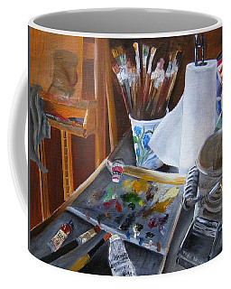Painting Things Coffee Mug