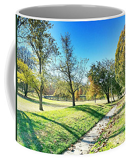 Painting With Shadows - Park Day Coffee Mug