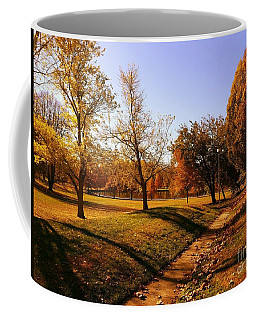 Painting With Shadows - Setting Sun Coffee Mug