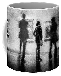 Paintings At An Exhibition Coffee Mug