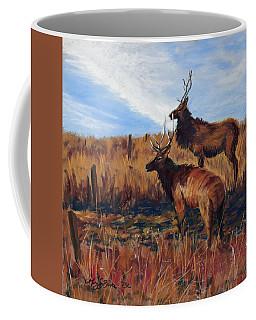 Pair O' Bulls Coffee Mug