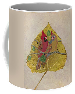 Pair Of Cardinals Coffee Mug