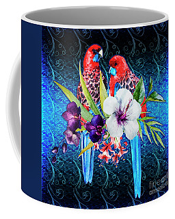Paired Parrots Coffee Mug
