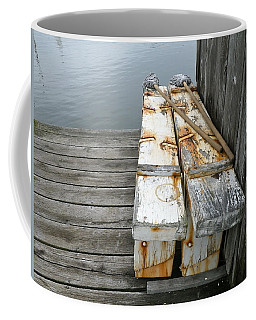 Coffee Mug featuring the photograph Paired Up by Anna Ruzsan