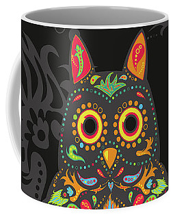 Paisley Owl Coffee Mug