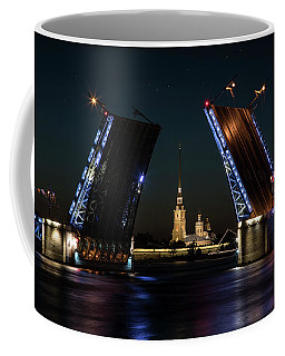 Palace Bridge At Night Coffee Mug