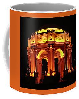 Palace Of Fine Arts - Dome At Night Coffee Mug