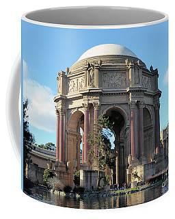 Coffee Mug featuring the photograph Palace Of Fine Arts by Steven Spak