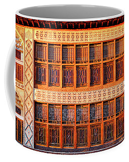Coffee Mug featuring the photograph Palace Of Sheki Khans by Fabrizio Troiani