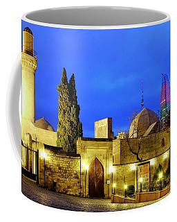 Coffee Mug featuring the photograph Palace Of The Shirvanshahs by Fabrizio Troiani