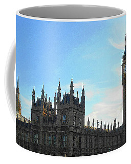 Palace Of Westminster And Big Ben Coffee Mug