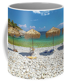 Palapa Umbrellas Coffee Mug