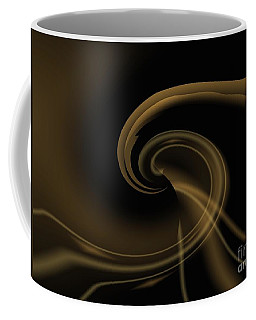 Pale Darkness - Abstract Coffee Mug